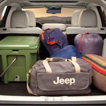 Jeep Cherokee Cargo Space