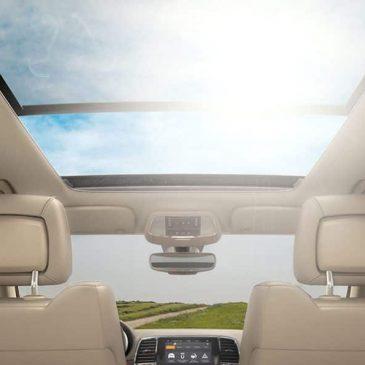 Jeep Cherokee Panoramic Sunroof