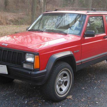 Jeep Cherokee Years Made