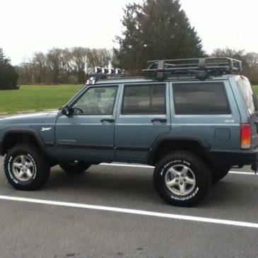 Jeep Cherokee Zone Lift Kit