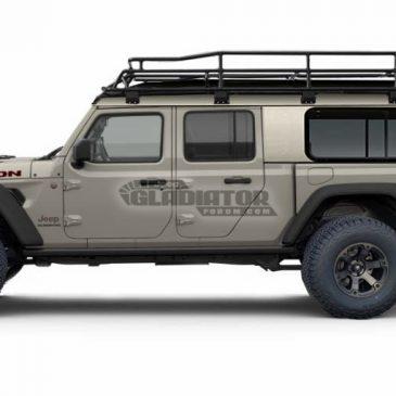 Jeep Gladiator Cab Cover