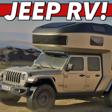 Jeep Gladiator Camper Shell