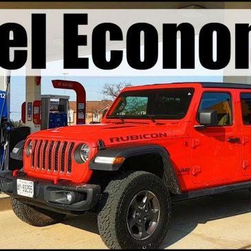 Jeep Gladiator Gas Mileage