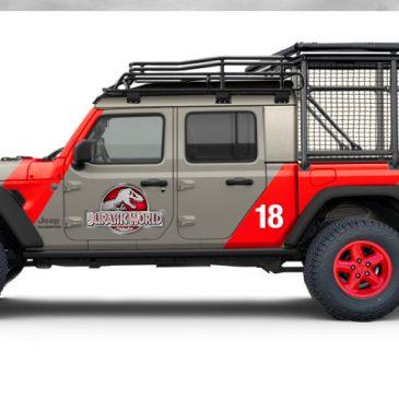 Jeep Gladiator Jurassic Park