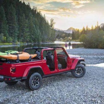 Jeep Gladiator Kayak Rack
