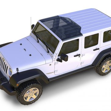 Jeep Wrangler Clear Top