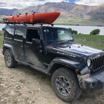Jeep Wrangler Kayak Rack