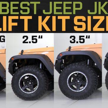 Jeep Wrangler Lift Kits