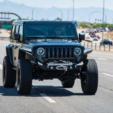 Jeep Wrangler Quick Order Package