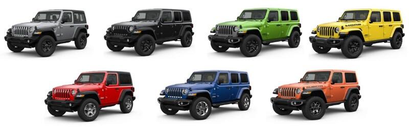 Jeep Wrangler Trim Levels