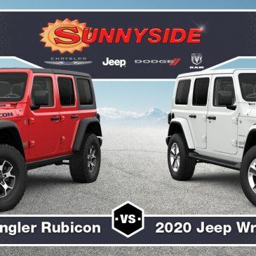 Jeep Wrangler Vs Rubicon