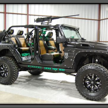 Jeep Wrangler Zombie Apocalypse Edition