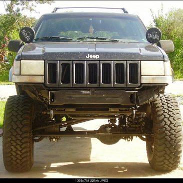 Jeep Zj Front Bumper